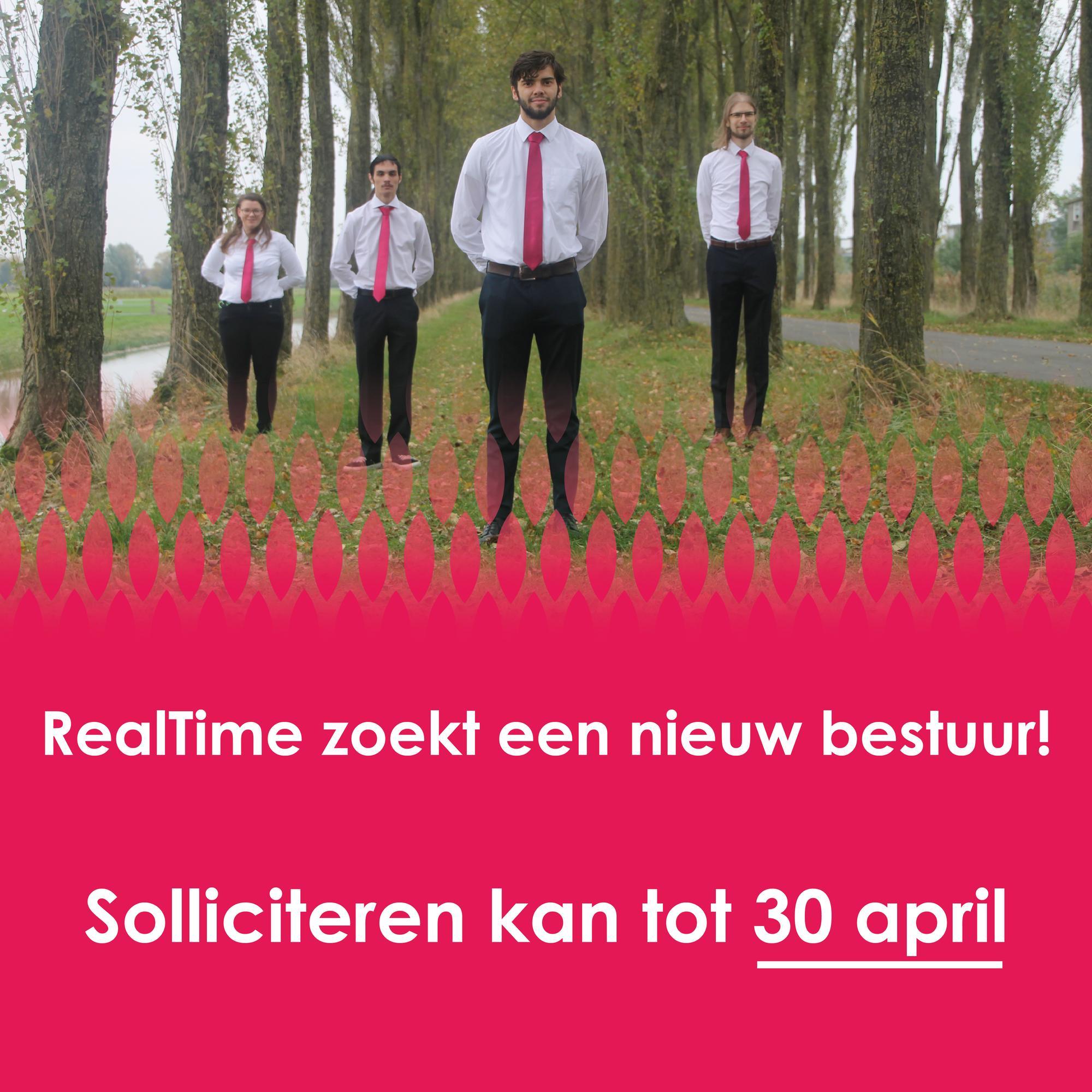 RealTime zoekt een nieuw bestuur!